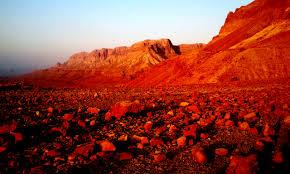 El desierto del Néguev fue Marte por unos días