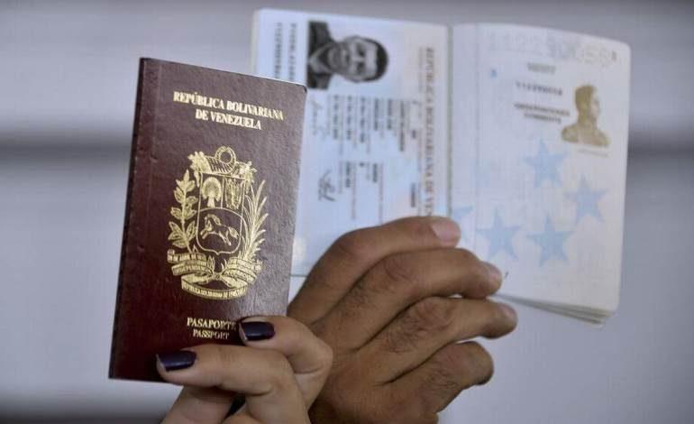7 mil 994 prórrogas de pasaportes serán enviadas a venezolanos en el exterior